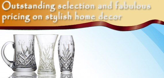 home tabletop crystal