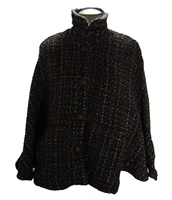 Branigan Freda Dublin Dark Tweed Cape