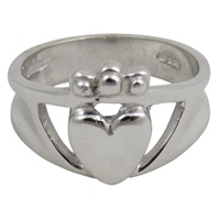 Sterling Silver Claddagh Triple Crown (2)