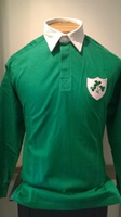 Long Sleeved Solid Green Rugby Shirt (3)
