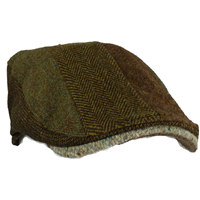 Hanna Hat Donegal Touring Striped Patch Brown (4)