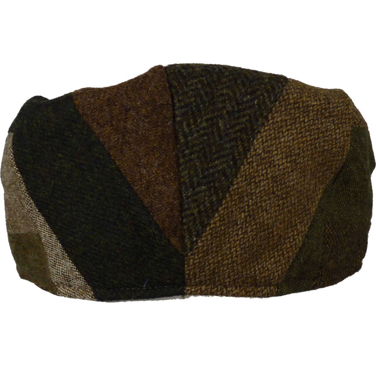 f1b95b237bbe3 Hanna Hat Striped Tweed Patchwork Vintage Cap