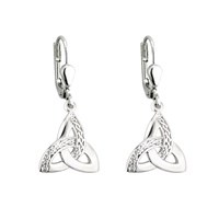 Trinity Celtic Knot Dangle Earrings (2)