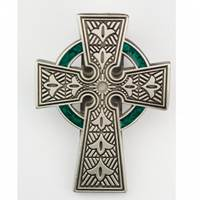 Mcvan Celtic Visor Clip With Green (2)