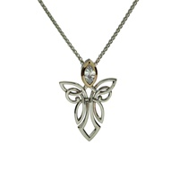 Keith Jack Guardian Angels Sterling Silver Necklac