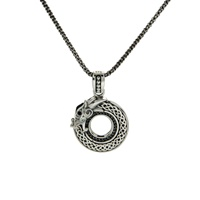 Keith Jack Dragon Collection Sterling Silver Neckl