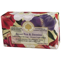 Sweet Pea and Jasmine French Triple Milled Soap (2