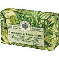 Lemongrass and Lemon Myrtle French Triple Milled S
