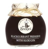Mrs. Bridges Blackcurrant Preserve with Sloe Gin (