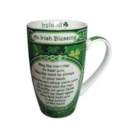 Royal Tara Irish Blessing Shamrock Garden China Mu