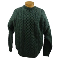 Carraig Donn Aran Traditional Sweater, Connemara (