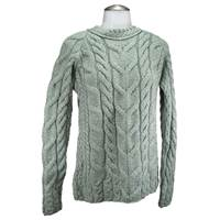 Carraig Donn Ladies Aran Stitch Fashion Irish Swea