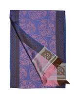 Jimmy Hourihan Celtic Scarf, Blue/Purple/Brown Blend