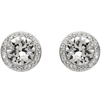 Sterling Silver Swarovski ST37 Halo Earrings (2)