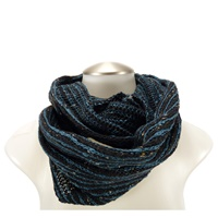 Bill Baber Donegal Wool Snood - Infinity Scarf, Jewel