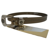 Lee River Leather Triskle Belt, Lichen (3)