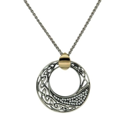 Keith jack comet pendant sterling silver and gold bale at eirish aloadofball Images