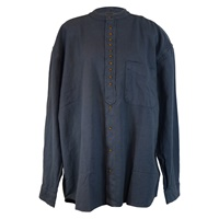 Irish Civilian Heritage Grandfather Shirt - Blue