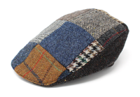 Hanna Hats-Irish-Tweed Donegal Touring Patch Cap