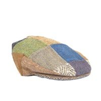 Hanna Hats One of a Kind Patchwork Snap Cap