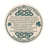 Irish Blessing Bread Warmer
