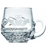Galway Irish Crystal Claddagh Christening Mug