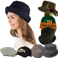 Catalog for Irish Caps | Hanna Hats | Irish Flat Cap | Scally Cap | Ireland