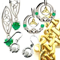 Catalog for Celtic & Claddagh Earrings