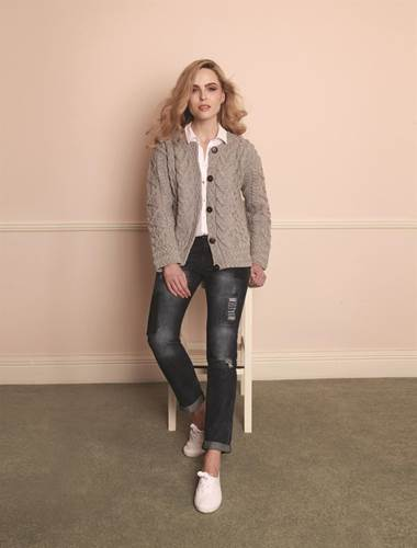 Image for Cable Knit Fashion Cardigan Wicke