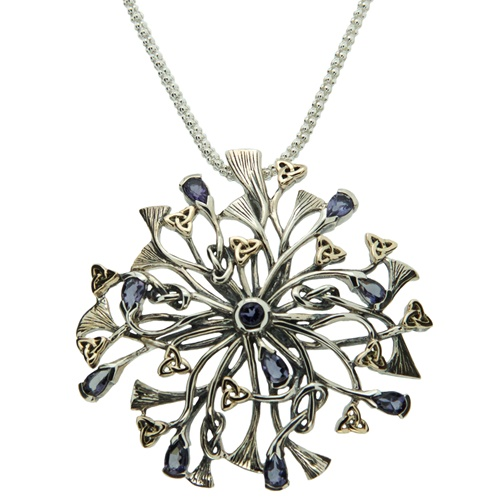 Keith Jack Rhapsody Necklace -Iolite
