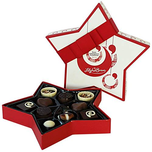 Image for Lily O'Briens  10 Chocolates Star