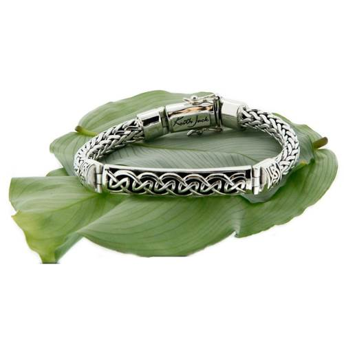 Dragon Weave Eternity Bar Bracelet Keith Jack
