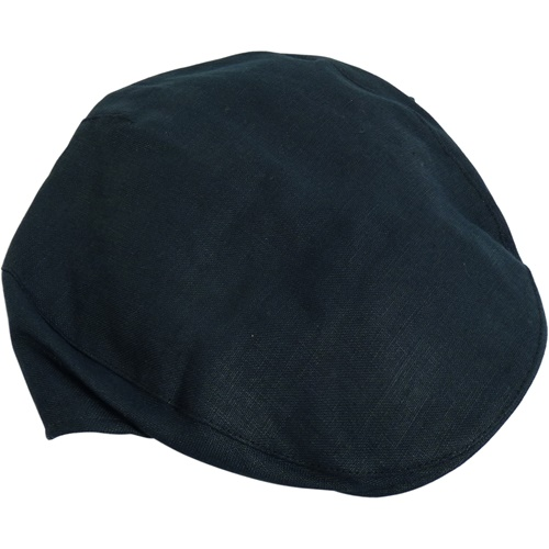 Hanna Irish Linen Touring Cap, Navy