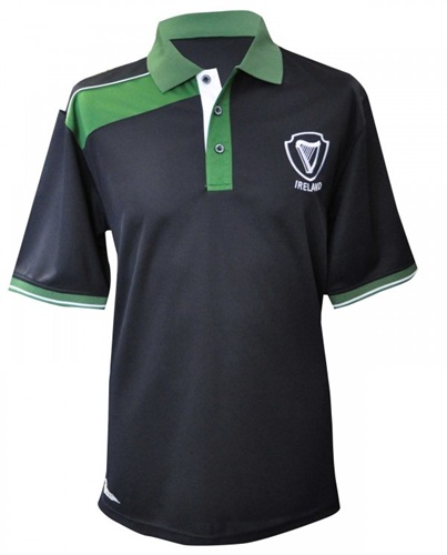 Croker Navy Panelled Ireland Rugby Jersey